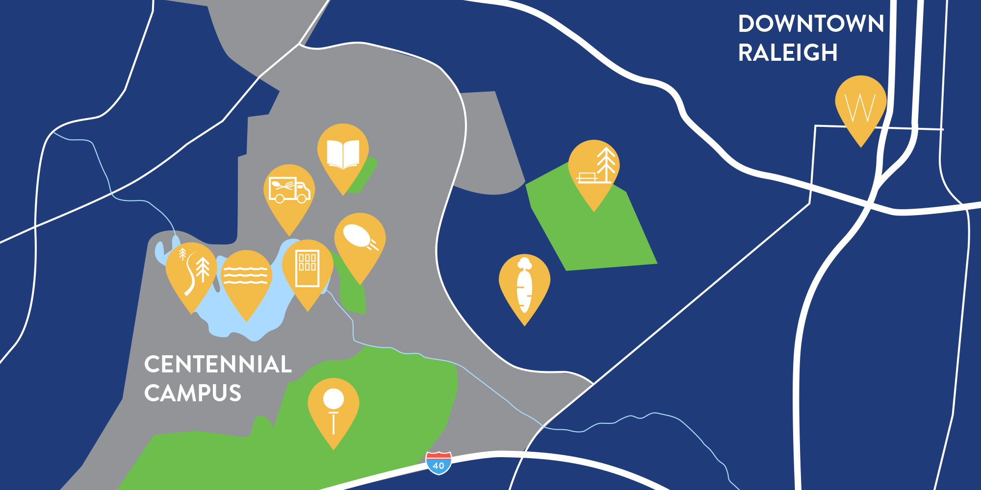 Venture Alliance Centennial map
